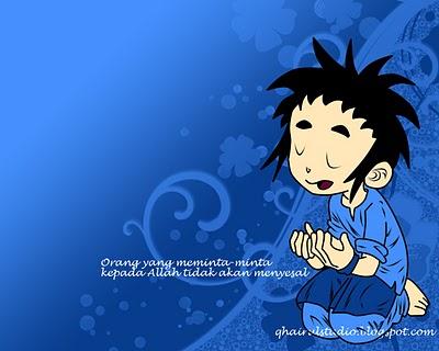 berdoa(biru)